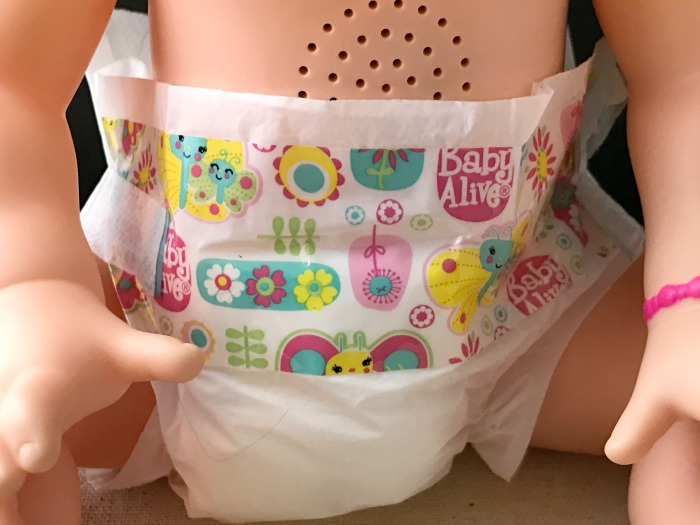 Baby Alive Reusable Diapers With Snacking Sara Baby Alive Doll