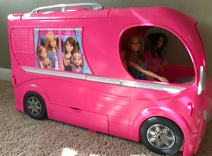 Barbie Pop Up RV