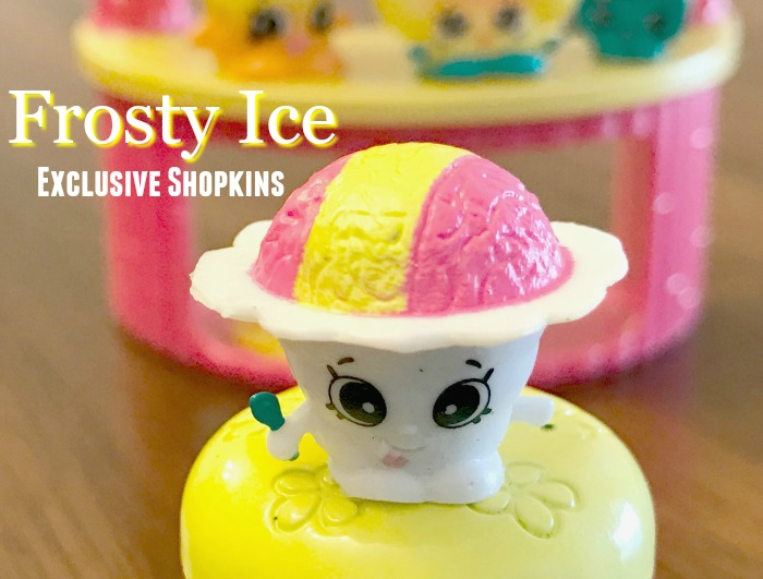 Frosty Shaved Ice Shopkins Tropical Set Exclusive Shopkin