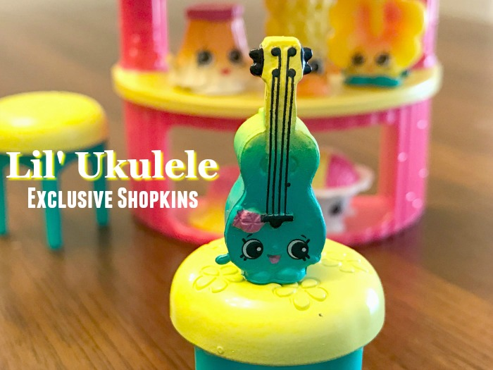 Lil' Ukelele Shopkins Tropical Set Exclusive Shopkin
