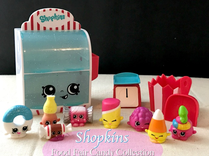 Shopkins Candy Set Food Fair Collection