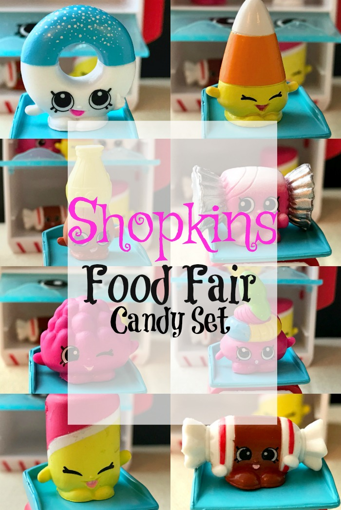 Shopkins Food Fair Candy Set