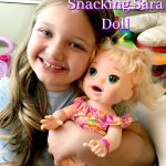 The Snacking Sara Baby Alive Doll Is So Much Fun!