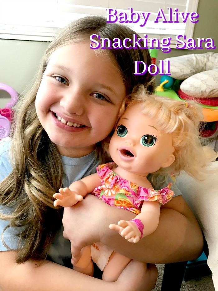 Snacking Sara Baby Alive Doll That Eats Food