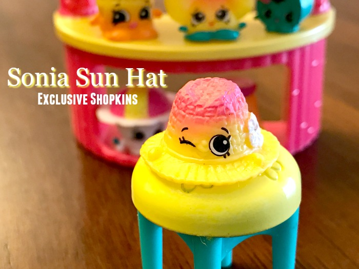 Sonia Sun Hat Shopkins Tropical Set Exclusive Shopkins