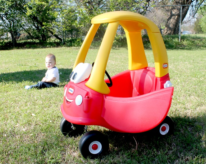 Red Little Tikes Cozy Coupe Car For Toddlers