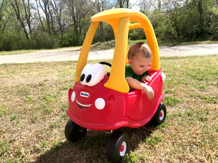 Baby Gift For 1 Year Old Boy : Why toddlers love little tikes cozy coupe car my